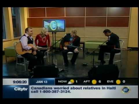 Trifecta, Pavlo, Rik Emmett&Oscar Lopez @ City TV Interview&Performance - Part 1