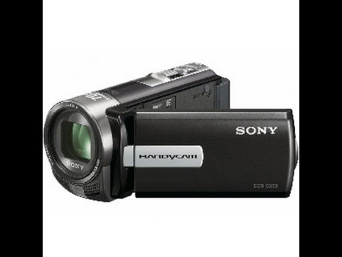 REVIEW DA FILMADORA SONY DCR SX22