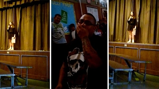 Girl Asks Stepdad To Adopt Her During Talent Show