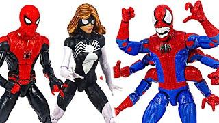 Marvel Spider-man and Woman! Defeat 6 hands Demogoblin! | DuDuPopTOY