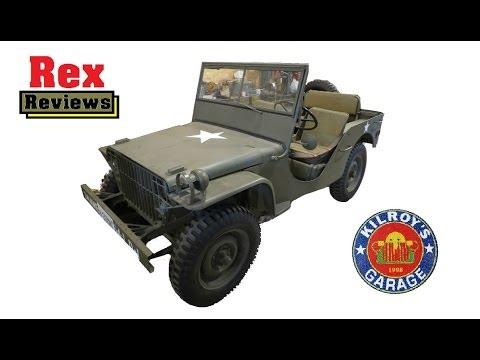 PERFECT Jeep Restoration - START TO FINISH - Rex Reviews