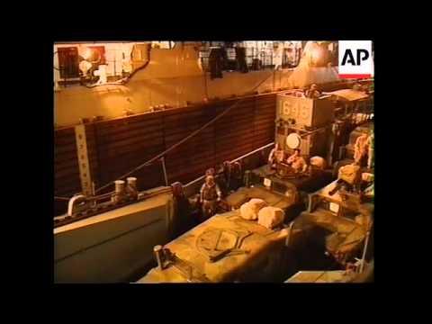 Activity on board USS Peleliu