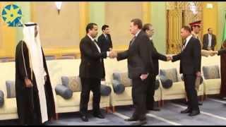 بالفيديو : المشير طنطاوي ومفيد فوزي ونجل عبد الناصر في عزاء الملك عبد الله