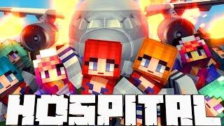 Broken Mods Hospital - Anime Girls Plane Crash! (Minecraft Roleplay) #26
