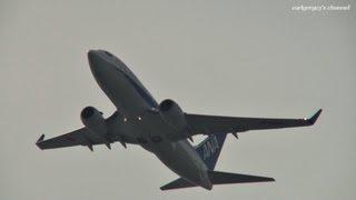 関西国際空港 Air Nippon (ANK/ANA) Boeing 737-700 JA16AN 離陸 2011.11.10