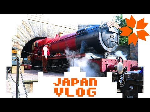 Japan Vlog 2018 - Universal Studios Japan & Harry Potter Hype #8