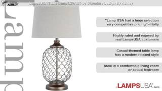 Ashley 1-Light 3-Way Table Lamp Gold L207824