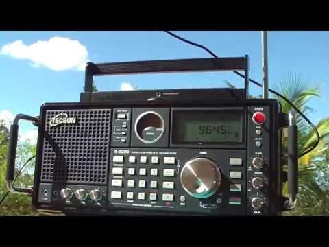 9645 khz Radio Bandeirantes , São Paulo , SP , Brazil