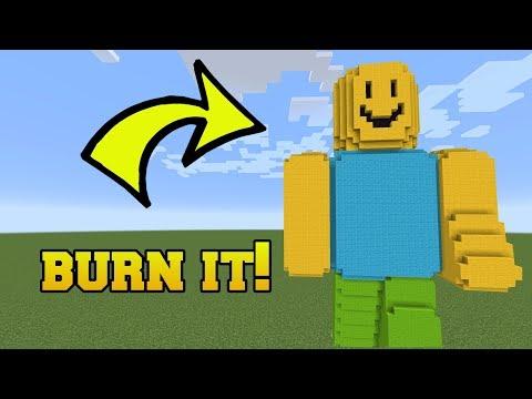 IS THAT ROBLOX?!? BURN IT!!!