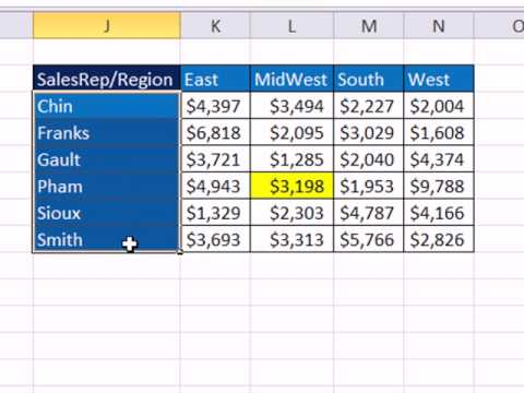 Tour Of Excel: Formulas, Formatting, Sort, Filter, PivotTables, Charts, Keyboards