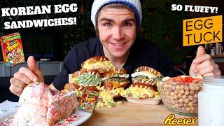 HEAVENLY LA BREAKFAST & DESSERT CHEAT MEAL I EGG TUCK & MILK TAVERN I (8,000+ CALORIES)
