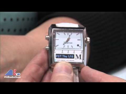 CES 2013: Martian Watches