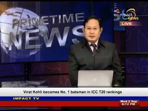 Impact News Prime Time Manipuri Bulletin 2 September 2015