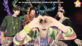 B1A4 - Beautiful Target Subs Español + Karaoke (DMS Subs)