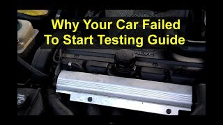 Why wont my car start? Car will not crank, won't turn over, dead battery, etc. - VOTD