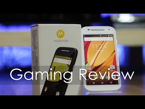 Moto E 2nd Gen 2015 Model Gaming Review