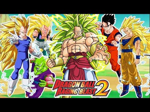 Dragon Ball Raging Blast 2 : BROLY SUPER SAIYAJIN 3 VS 5 GUERREROS Z - EPICAMENTE EPICO ! !
