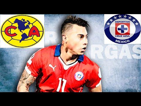 Cruz azul y América van por el chileno Eduardo Vargas