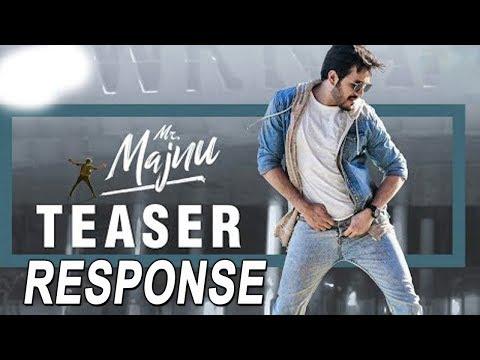 Mr Majnu Movie Teaser Response | Akkineni Akhil | Nidhi Agerwal | Tollywood News | Top Telugu Media
