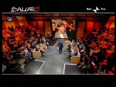 Gasparri preso a schiaffoni da Tabacci e dalla Serracchiani (Ballarò 19/05/09)