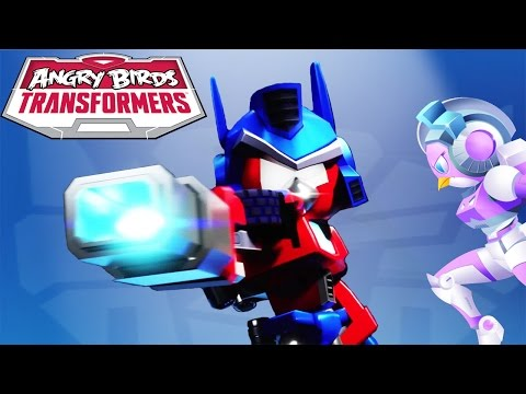 Angry Birds Transformers - Update New Transformers Unlocked New Weapons Gameplay Walkthrough #22