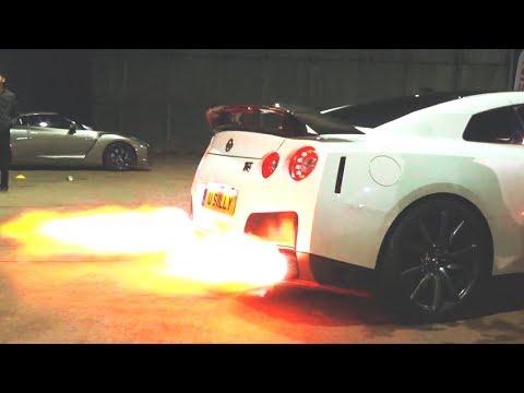 NISSAN GTR - Fire Spitting GTR