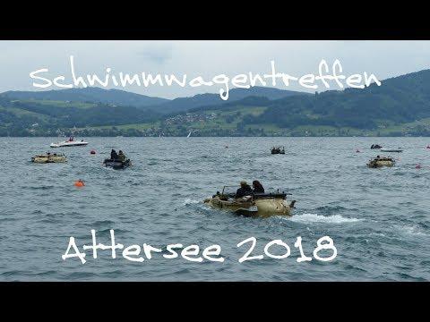 Österreich: 58. Internationales Schwimmwagentreffen am Attersee
