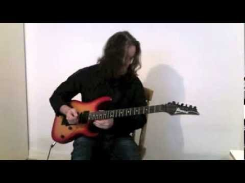 Brad Demeter's Awesome Melodic Guitar Jam