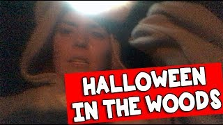 HALLOWEEN IN THE WOODS // Grace Helbig