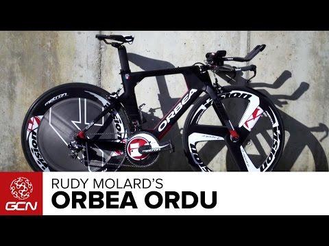 Team Cofidis' Orbea Ordu Time Trial Bike