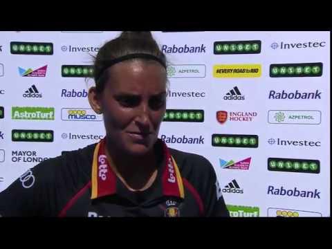 Post Match Interview - Lieselotte van Lindt