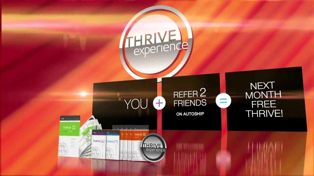 le-vel thrive supplements