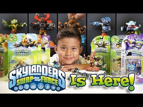Skylanders SWAP FORCE Review, Unboxing & Gameplay!