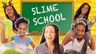 Back in Slime School  - Pretend Teacher vs Silly Students - New Toy School