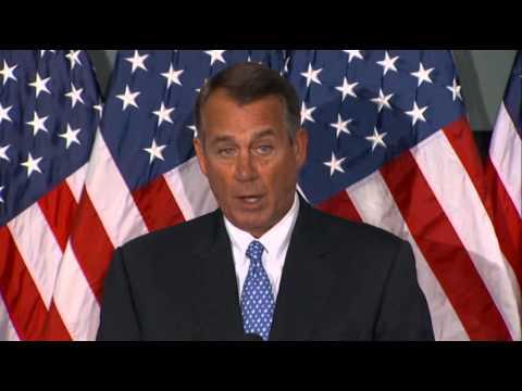 Boehner: Obamacare Threatening Economy