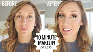 10 Minute makeup routine | How I do my makeup, every day!