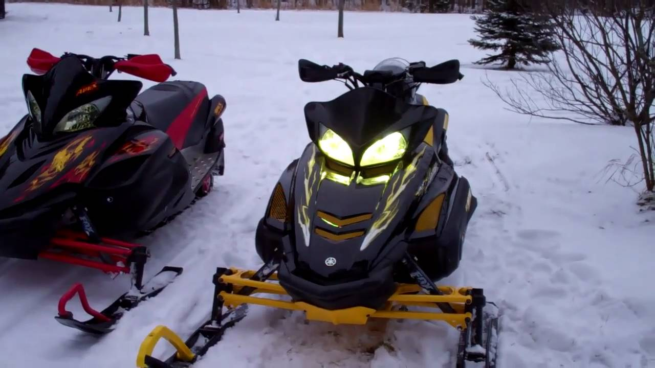 Yamaha Rx Warrior Snowmobile