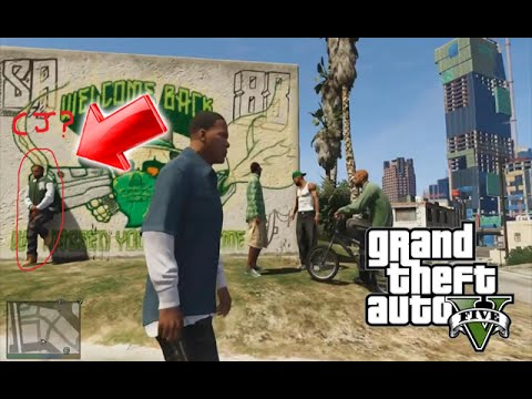 Gta 5 cj Easter Egg y Misterios cj en Gta 5