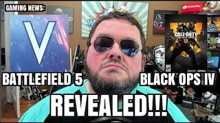 Battlefield V and Black Ops 4 (call of duty) REVEALED! Which should you buy?