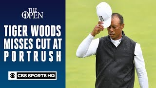 Tiger Woods misses cut at Portrush | 148th Open CHampionship | CBS Sports HQ