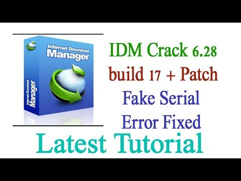 IDM 628 Build 8 Final Crack and Patch Download