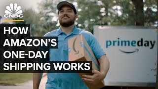 How Amazon Makes One-Day Shipping Happen For Prime Day