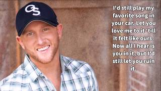 Download Lagu Cole Swindell-Break Up in the End-Lyrics Gratis STAFABAND