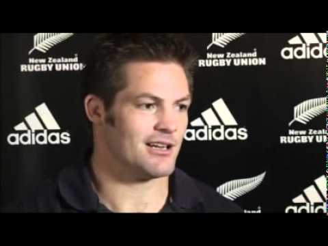 Richie McCaw talks about re-signing with the NZRU