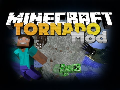 Minecraft Mod - Tornado Mod - New Items and Weather (Destroy Kings Landing)