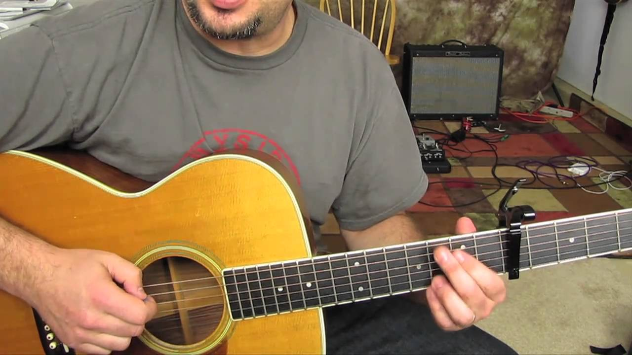 how to play sugar man on guitar