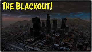 GTA 5 Zombie Apocalypse Ep. 3 - THE CITY BLACKOUT! (New Mod Showcase/Skit)