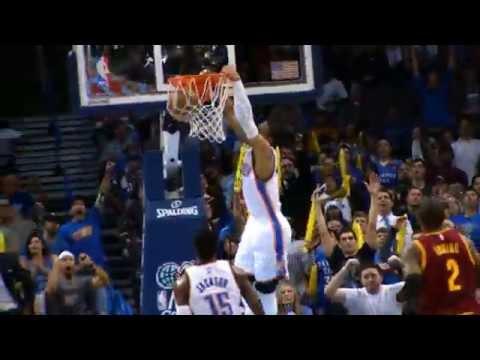 Russell Westbrook's Top Dunks of 2014-2015 Season