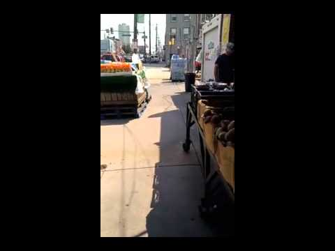 Street harasser, 8th St and Washington Ave, Philadelphia