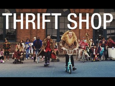 [日本語歌詞付き] THRIFT SHOP - MACKLEMORE & RYAN LEWIS